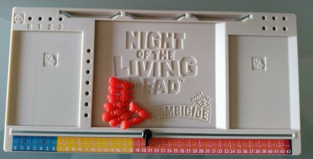 ZOMBICIDE DARK NIGHT OF THE LIVING DEAD DASHBOARD + MARCADORES COLOR ALEATORIO