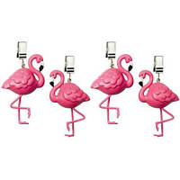 Tablecloth Weights, Key West Flamingo, Set Of 4