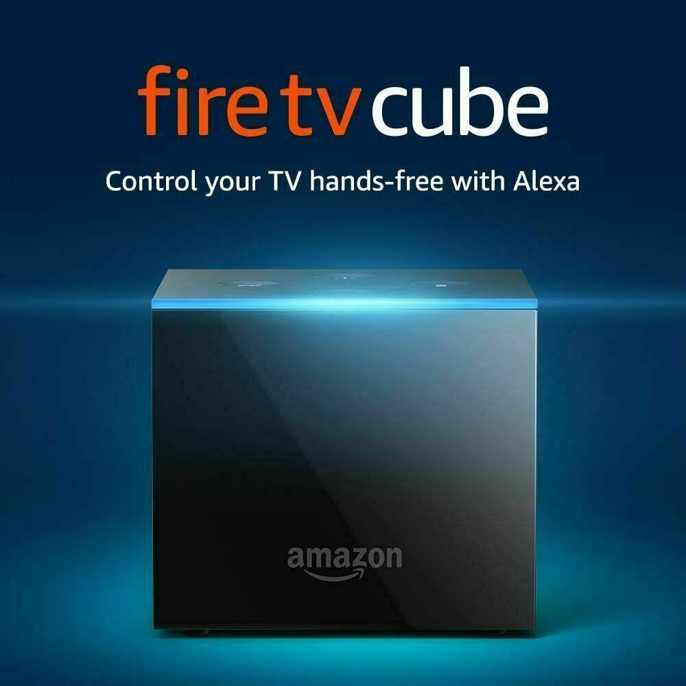 Fire TV Cube 2nd Gen Streaming Player w/ Alexa, 4K Ultra HD, Alexa Voice Remote 2nd alexa cube fire gen player remote streaming ultra voice