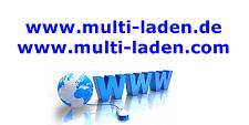 www.multi-laden.de und com < Online-Shop Domain, URL Webseite Projekt Geschäft