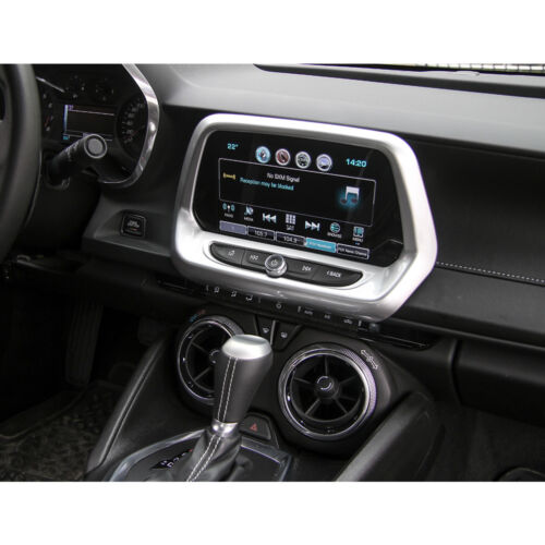 Chevrolet Camaro Interior GPS Navigation Center Control Panel Cover Trim For 17