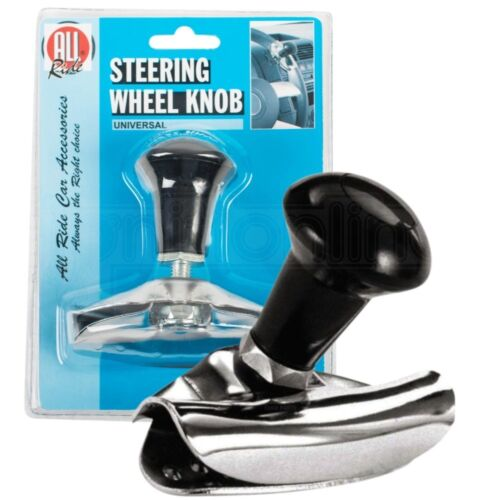 Universal Steering Wheel Knob Spinner Aid Hand Handle Turning Car Lorry Truck