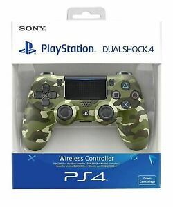 SONY-CONTROLLER-DUALSHOCK-V2-PS4-PLAYSTATION-4-WIRELESS-CAMO-VERDE-MILITARE