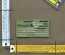 """Ricamata / Embroidered Patch Forward """"USA Flag"""" Multicam with VELCRO® brand hook"""