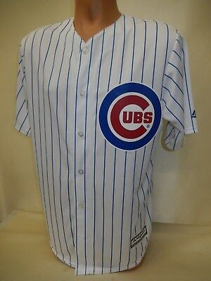 Majestic Chicago Cubs Button Down Toddler Jersey