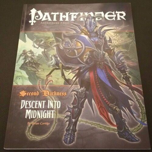 DESCENT INTO MIDNIGHT Paizo D/&D 3.5 NEW Pathfinder Adventure 18 Second Darkness