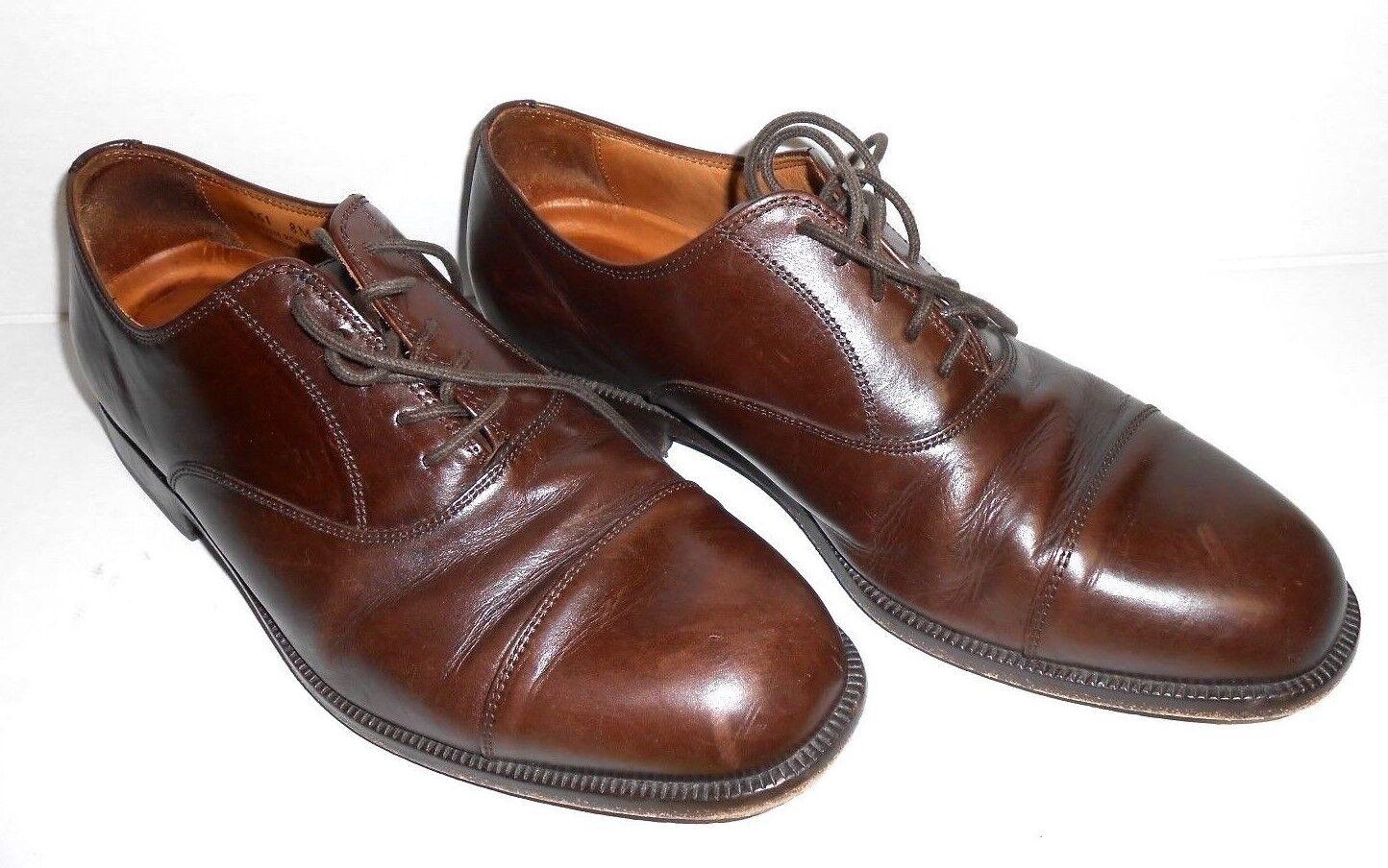 negozio online Uomo Rockport Oxford Oxford Oxford scarpe Dimensione 8M Marrone Leather Business Casual  con il 100% di qualità e il 100% di servizio