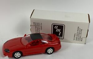 AMT-1-25-1995-DEALER-PROMO-CAR-RED-DODGE-STEALTH-ORIGINAL-MIB