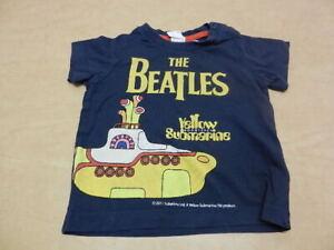 The Beatles Yellow Submarine Portholes Baby Romper Shirt All Sizes New