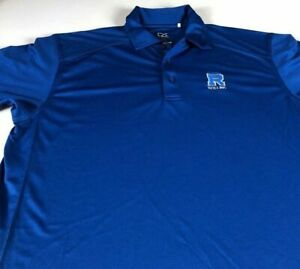 Rollins Polo Shirt Mens Medium Dri-Fit Emory School Of Public Health Doctor ATL