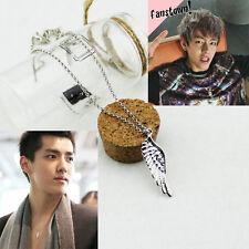 Korean Fashion EXO KRIS BTS Flying Wing Necklace Made in Korea X1917