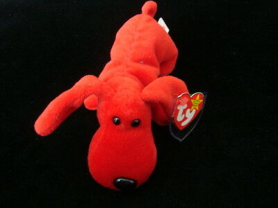 NWT! TY BEANIE BABIES-ROVER THE RED DOG!