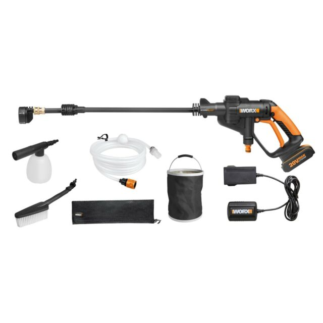 WORX 20V Hydroshot, Portable Pressure Washer, Battery & Charger Included