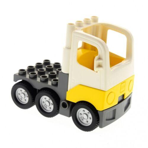1x Lego Duplo LKW Kabine weiß gelb Laster Auto 4228456 4267673 1326c01 48125c02