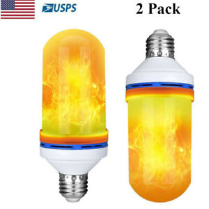 2-Pack-LED-Flame-Effect-Fire-Light-Bulb-E27-Simulated-Nature-Flicker-Lamp-Decor