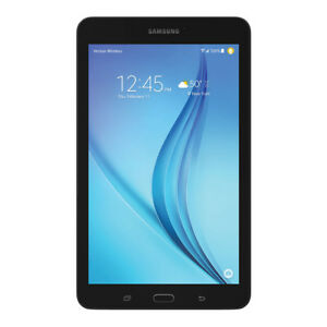 Samsung Galaxy Tab E T377V 8 inch 16GB Wi-Fi 4G Verizon Wireless Tablet Black