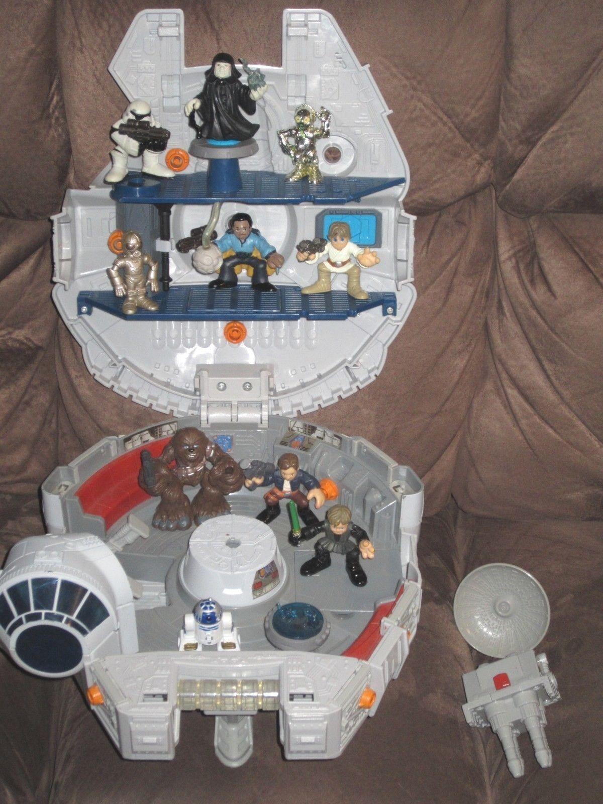Millennium Falcon + 10 (Lando, Emperor, Chewbacca) - Star Wars Galactic Heroes