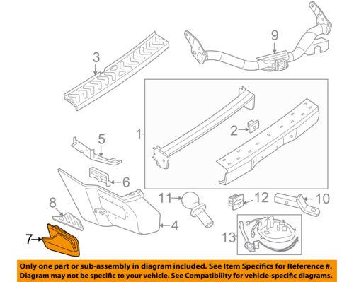 NISSAN OEM 05-15 Xterra Rear Bumper-Step Left 85021EA000