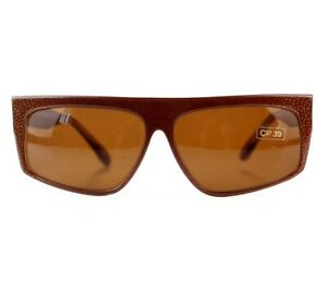 NOS 70s 80s Stefano Russo Model 711 vintage sunglasses leopard unisex Italy DS