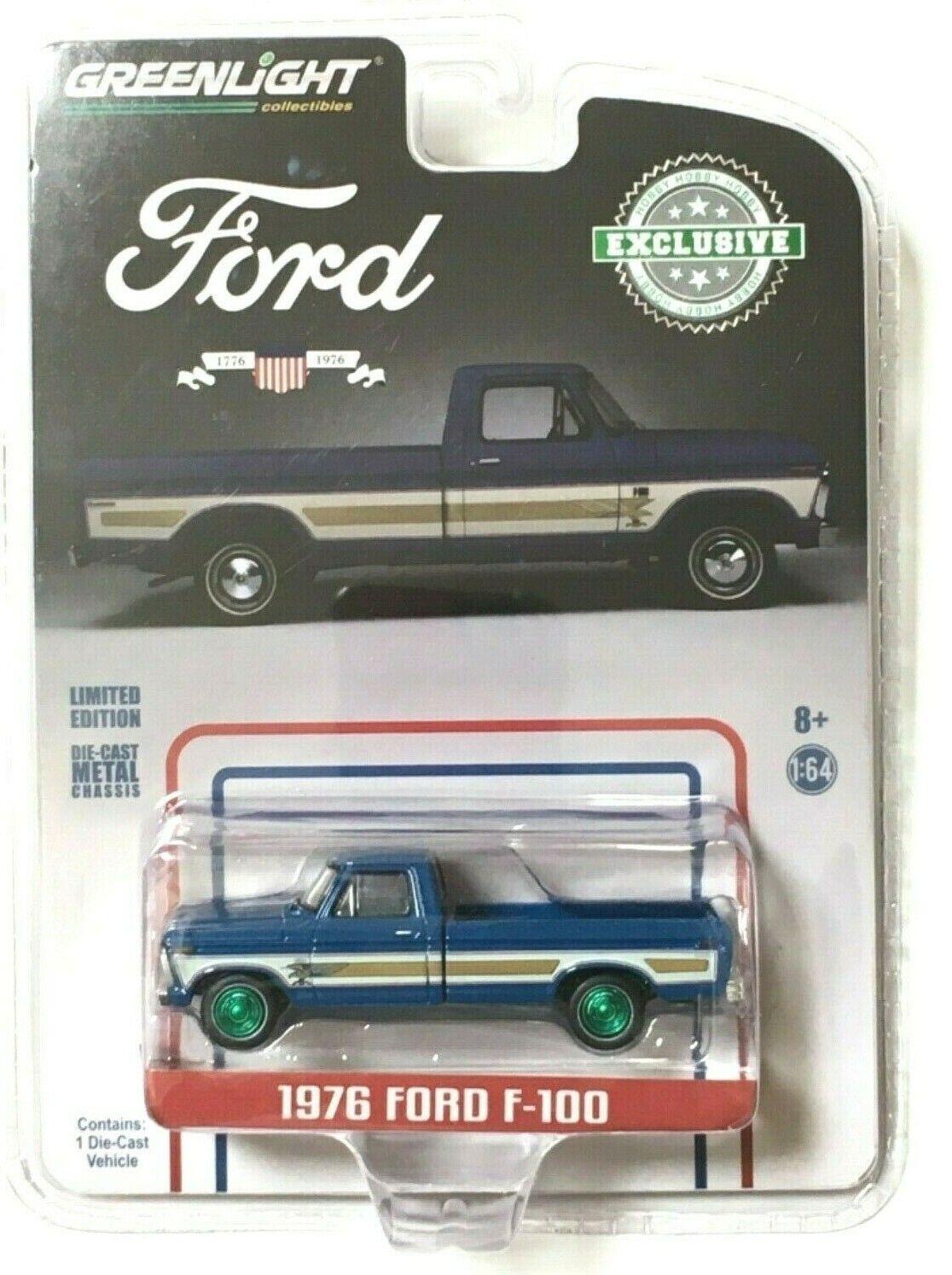 elige tu favorito Máquina verde verdeLight Chase 29966 29966 29966 1976 Ford F-100  comprar descuentos