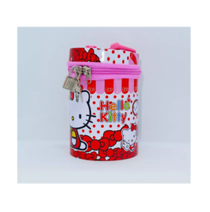 Character-Design-Coin-Case-with-Lock-and-Handle-Hello-Kitty