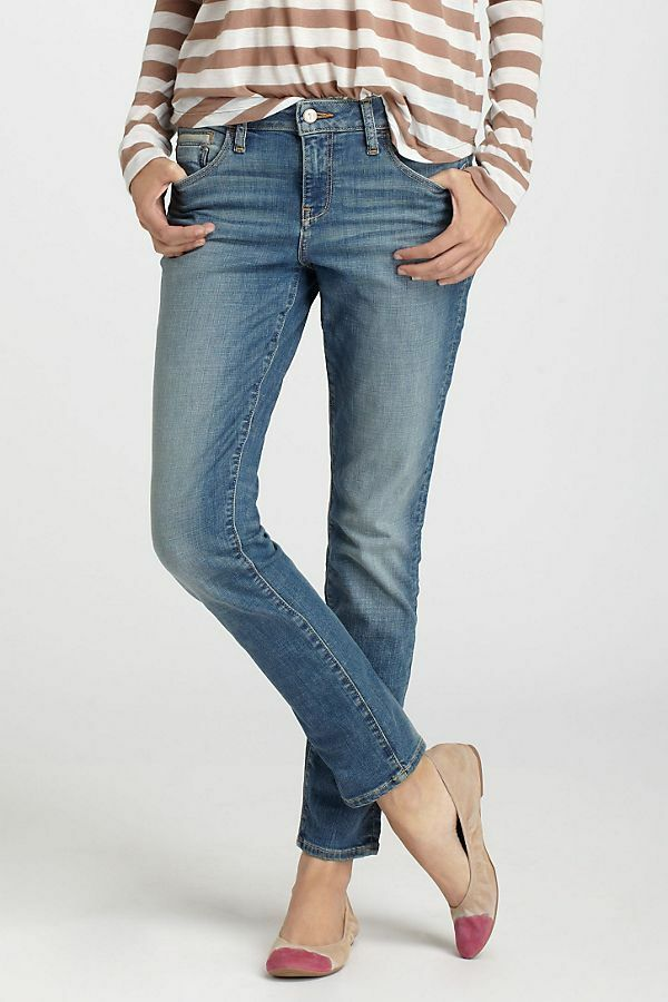 Anthropologie Pilcro & The Letterpress Women's Stet Slim Ankle Jeans Size 27