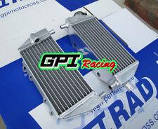Kawasaki Aluminum  radiator KX125/KX250 1994-1998 1995 1996 1997 1998