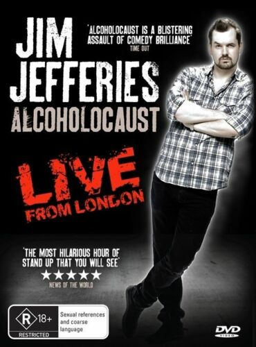 1 of 1 - Jim Jefferies - Alcoholocaust (DVD, 2011)-REGION 4-Brand new-Free postage