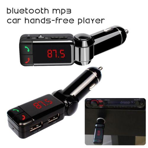 LCD Wireless Bluetooth Car Kit MP3 Player FM Transmitter Modulator USB SD MMC