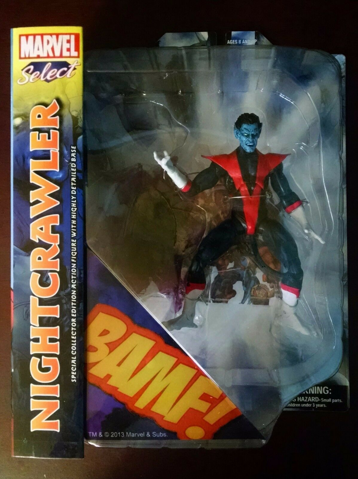 Diamond marvel wählen nightcrawler action - figur - seltenen - vhtf