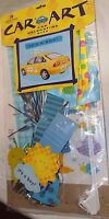 Car Decorating Kit It's A Boy Auto Flag Magnet Window Decorations
