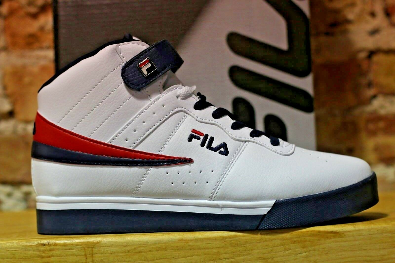 082ee6bc7e Mens Fila Vulc 13 Mid Plus Suede Leather Mid High Top Casual Athletic shoes  WBR. Mens NIKE AIR MAX ...