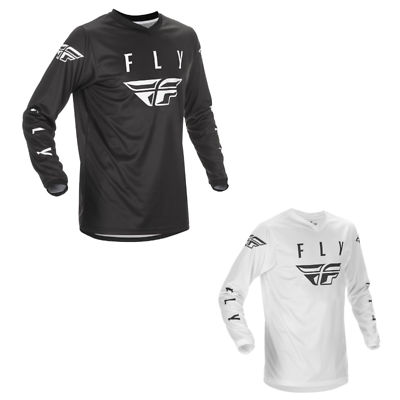 Large Fly Racing 2021 Universal Jersey White//Black
