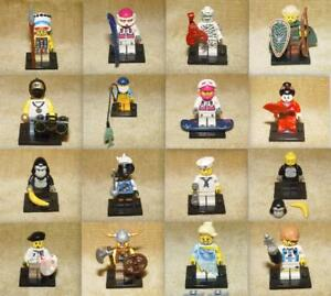 LEGO-MINIFIGURES-Collectible-Minifigs-Series-3-4-PICK-CHOOSE-YOUR-OWN-Genuine