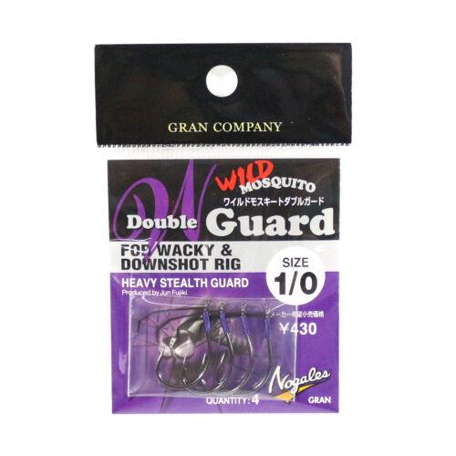 2697 Varivas Wild Mosquito Wacky Worm Hook Double Guard Size 1//0