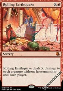 1-PreCon-FOIL-Rolling-Earthquake-Red-FtV-From-the-Vault-Annihilation-Mtg-Magic