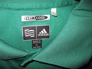 Adidas-Men-039-s-Golf-ClimaCool-Green-Athletic-Golf-Polo-Shirt-Size-XL