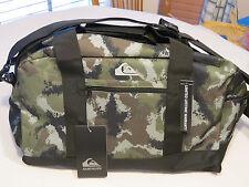 "Quiksilver Medium Shelter Duffle Bag GPB6 camo TPQS07001 37L 12.25""X10.25""X19.25"