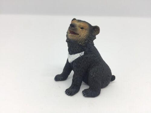 BULLYLAND 63658 kragenbär giovane == Asian Black Bear Cub Wild Life