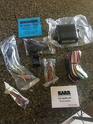 NEW IN BOX KARR Car Alarm System KARR4040AWOP 4040A | eBay
