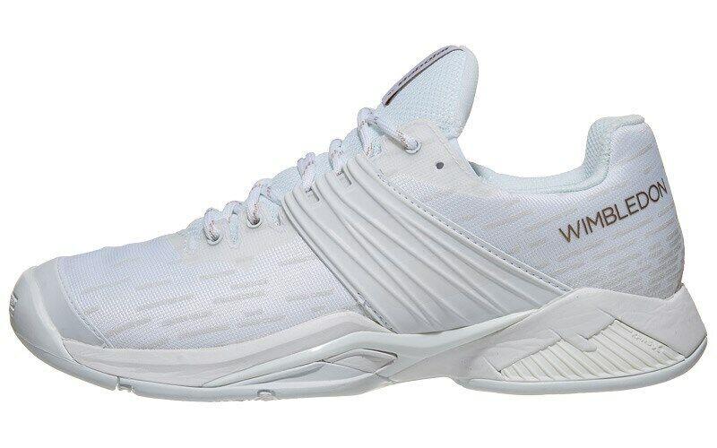 Babolat Propulse furia AC Wimbledon para mujeres zapatos talla 8-Gratis Cadena Y Grip