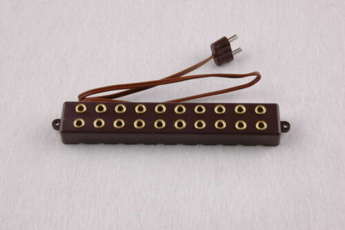 10 Anschlüße Barre de Distribution avec câble de connexion NEUF 2,6 mm