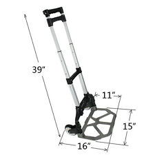 Easy Carry Aluminium Folding Luggage Cart And Hand Trolley Wheels Foldable