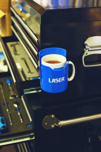 Laser Tools 7750 Magnetic Cup Holder  Blue