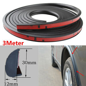 Car Wheel Trim 3m Universal Rubber Fender Flares