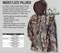 Dam Mad Ap Realtree Cam0 Fleece Pullover Hunting Medium Rrp £99.99