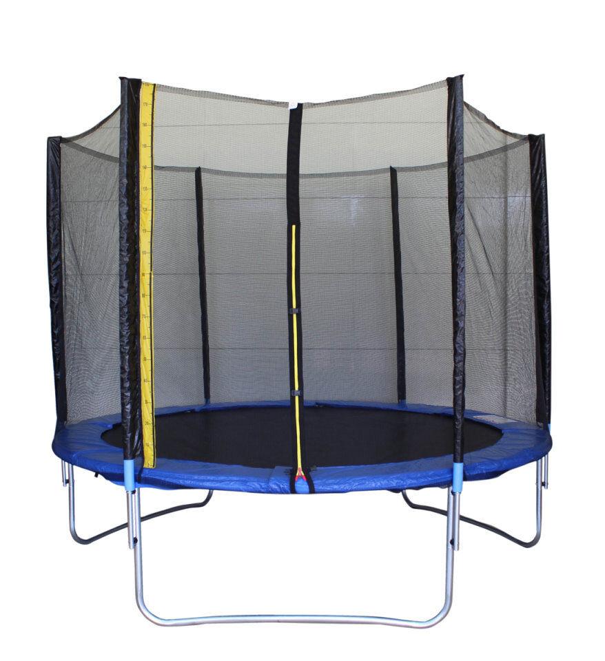 Gartentrampolin Trampolin 3 Meter (10FT)inkl. Plane, Leiter und Sicherheitsnetz