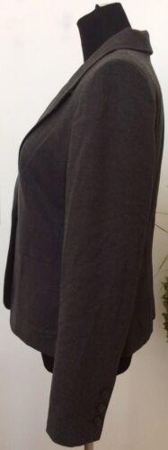 Size The Nwt Limited Women's Jacket 10 Polyester Blazer Gray Blend Career TTBzdxr