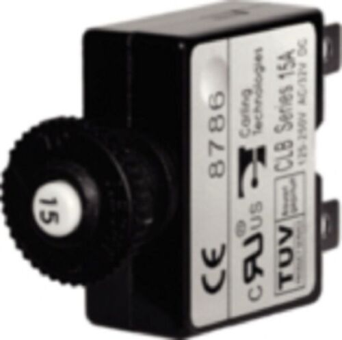 DC  BLU 7059 New Boat Circuit Breaker Push Button 30 AMP Marine AC
