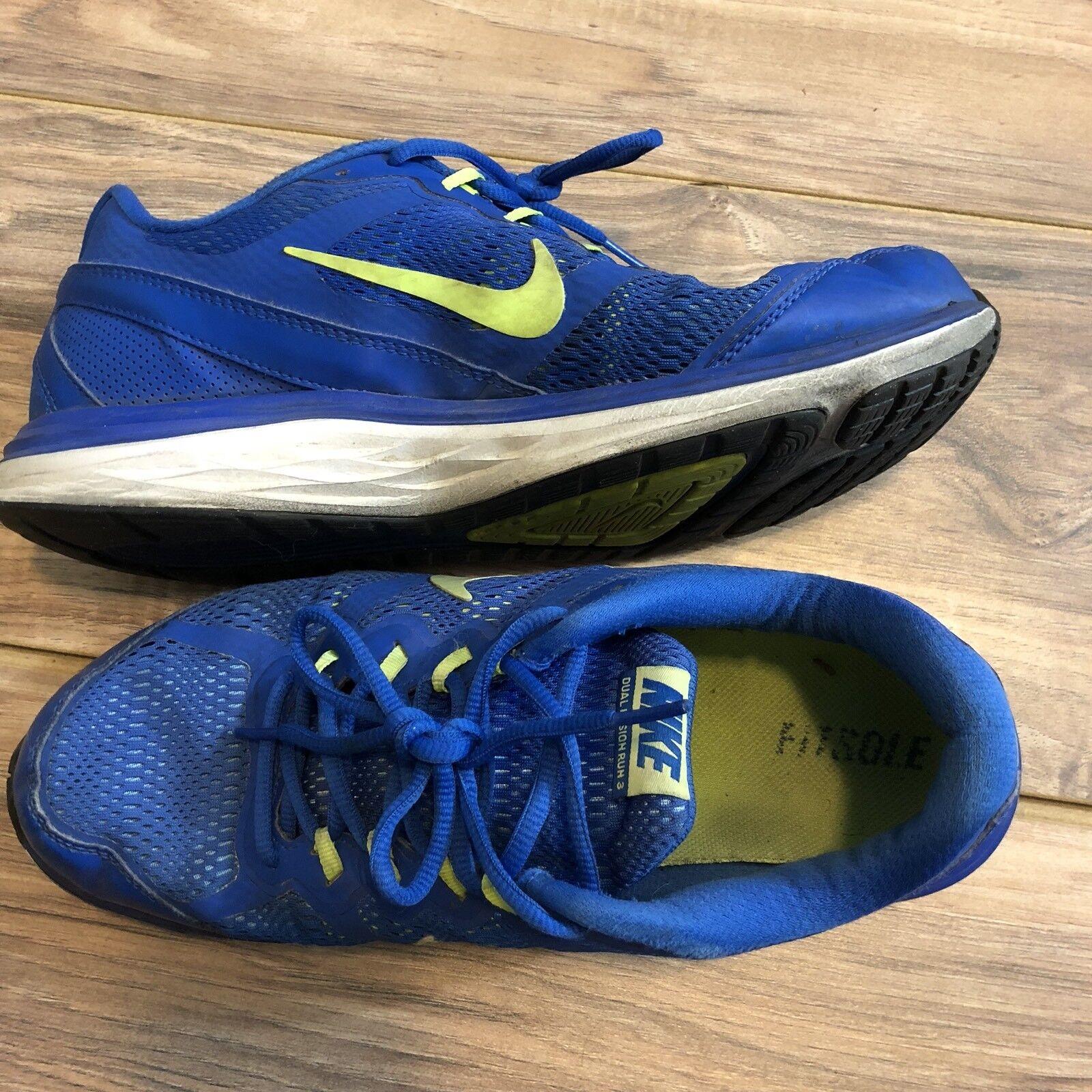 NIKE NIKE NIKE DUAL FUSION azul corriendo zapatos de los hombres de reducción de precio liquidación estacional c4a8b5